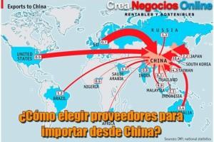 Como elegir mi proveedor para importar desde china